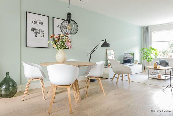 Binnenkijken Scandinavisch wonen met pastels ©BintiHome
