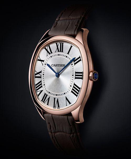 La montre Drive extra-plate de Cartier