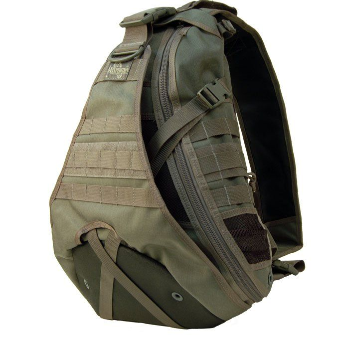 Maxpedition Monsoon Gearslinger Shoulder Sling Tactical Messenger Gear Bag - MAXPEDITION HARD-USE GEAR Tactical Nylon Gear for Military, Law Enforcement, Tactical Concealed Carry; Tailored to Perform Tactical