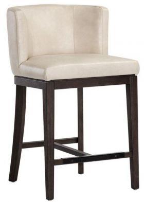 1940s French Upholstered Barrelback Barstool Upholstered Stool Kitchen Bar Stools Upholstered Bar Stools