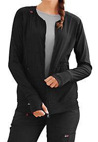 Koi Lite Clarity Ribbed Panel Scrub Jackets