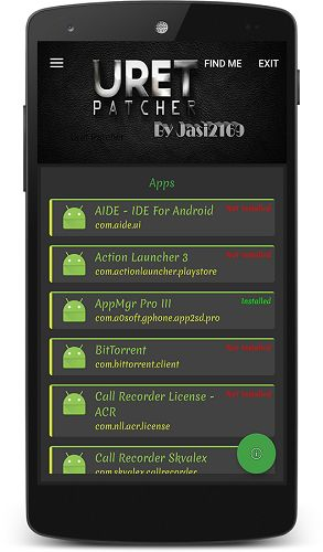 Uret Patcher v3.2   Uret Patcher v3.2Requirements:Android 4.0ROOTXposed (Optional)Overview:Uret Patcher Is An Automated Patching Tool Intended To Break License Checks In App Purchase Hacking Removing Ads And Other Restrictions Of Android Apps. It Includes Custom Patches Based On Per App Universal Patch Emulation Tools And Utilities.  Uret Patcher Is An Automated Patching Tool Intended To Break License Checks In App Purchase Hacking Removing Ads And Other Restrictions Of Android Apps.It…