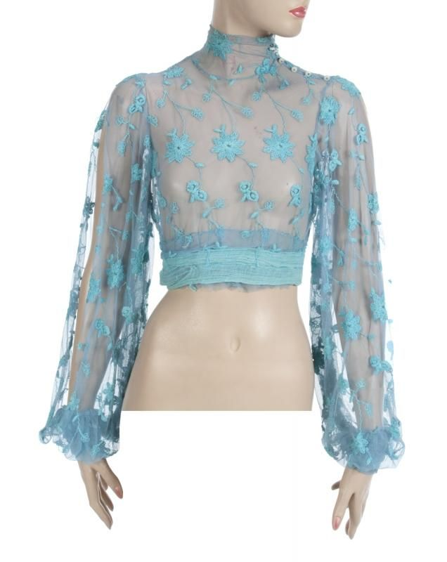BRITNEY SPEARS MUSIC VIDEO WORN BLOUSE - Price Estimate: $1500 - $3000