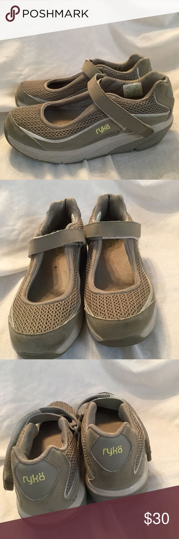Ryka Shape up Velcro Mary Jane sneaker Great for getting in shape, wide width, excellent condition. Shoes