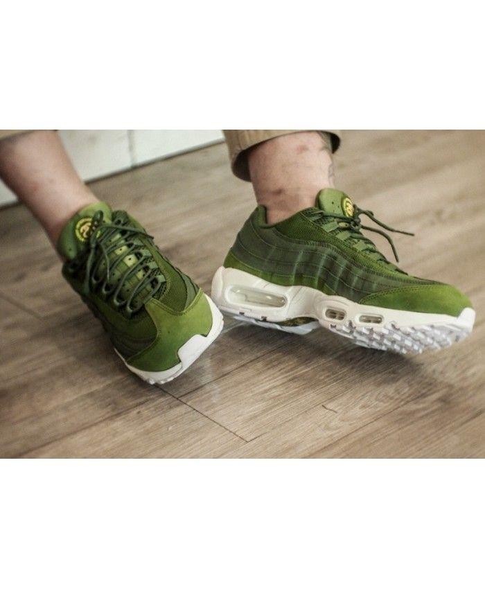 Nike Air Max 95 Ultra Mens Army Green Cheap UK