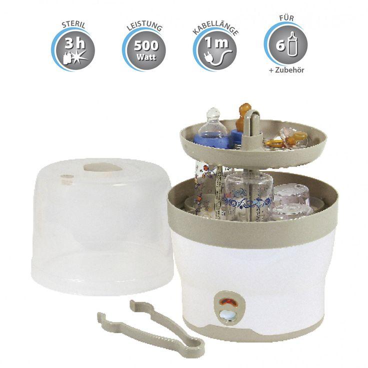 Vaporisator bis zu 6 Flaschen Dampfsterilisator Dampfsterilisator Vaporisator H+H BS 29