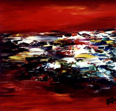 "Saatchi Art Artist Cris Acqua; Painting, ""7-BARNA "" #art http://www.saatchiart.com/art-collection/Painting/BARNA-de-Cris-Acqua/45144/70693/view"