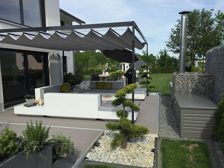 Hanse Markisen  Sonnenschutz GmbH (hansemarkisende) on Pinterest - markisen fur balkon design ideen