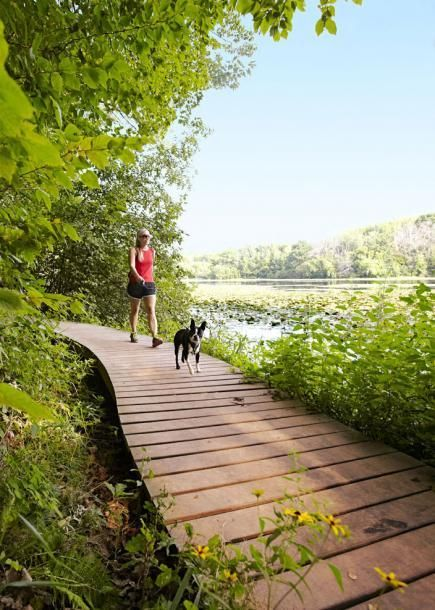 Eagan, Minnesota: Lebanon Hills Regional Park. Fun hiking in a Twin Cities oasis.