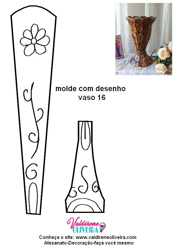 Molde de vaso de caixa de leite tulipa