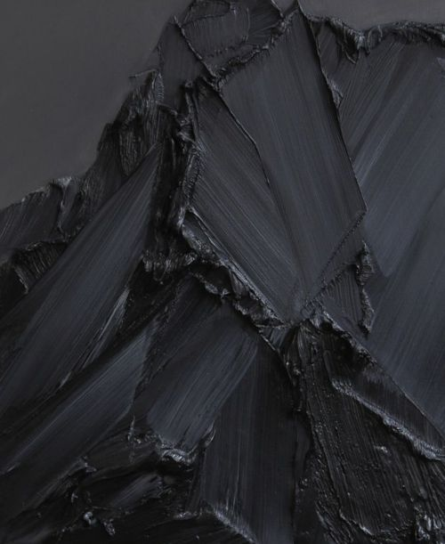 Angelic++Mutilation:: #minimal #art #painting #black