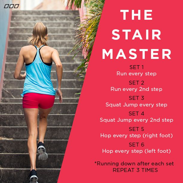 The stair master xx