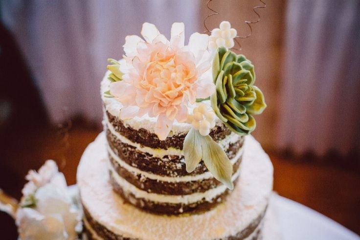 inside out cake, carrot, rustic