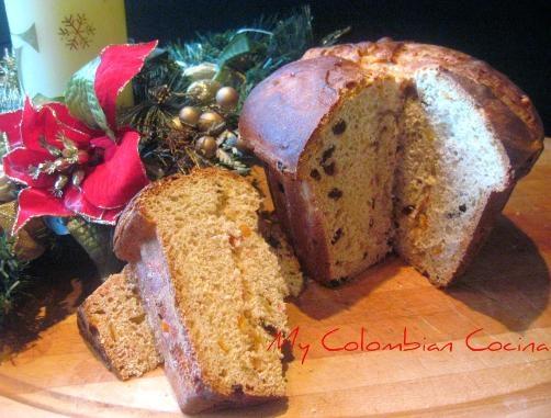 Sweet bread in a mold→Pan Dulce en Molde