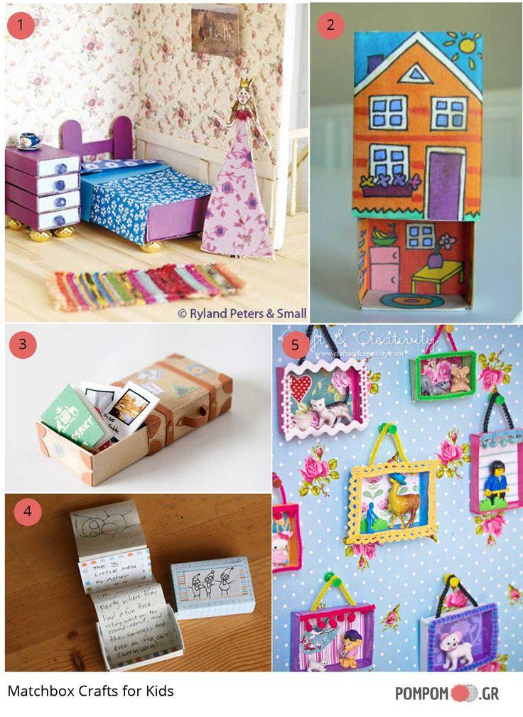 Matchbox Crafts for Kids!