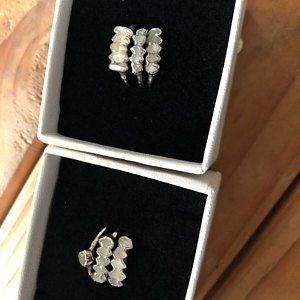 1c8925d23 Adriana Shegich added a photo of their purchase Dainty Earrings, Opal  Earrings, Rose Gold