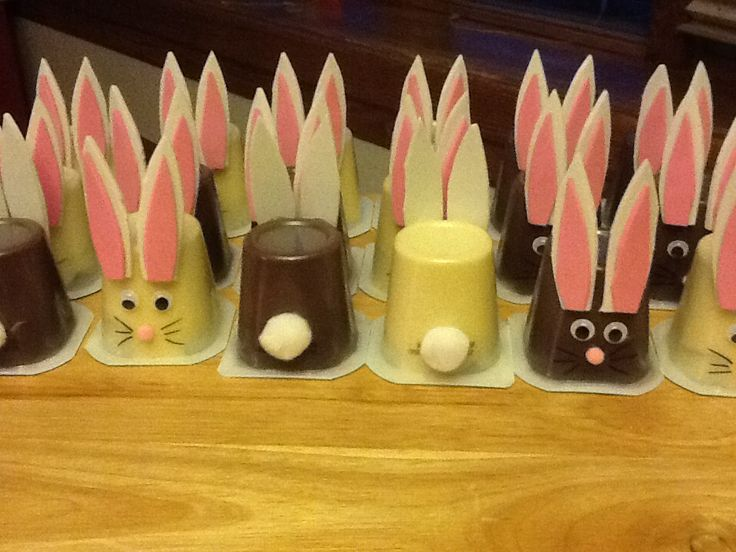 Easter preschool snack
