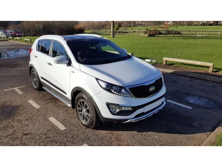 KIA Sportage 2.0 CRDi KX-3 AWD 4x4 AUTO  #RePin by AT Social Media Marketing - Pinterest Marketing Specialists ATSocialMedia.co.uk