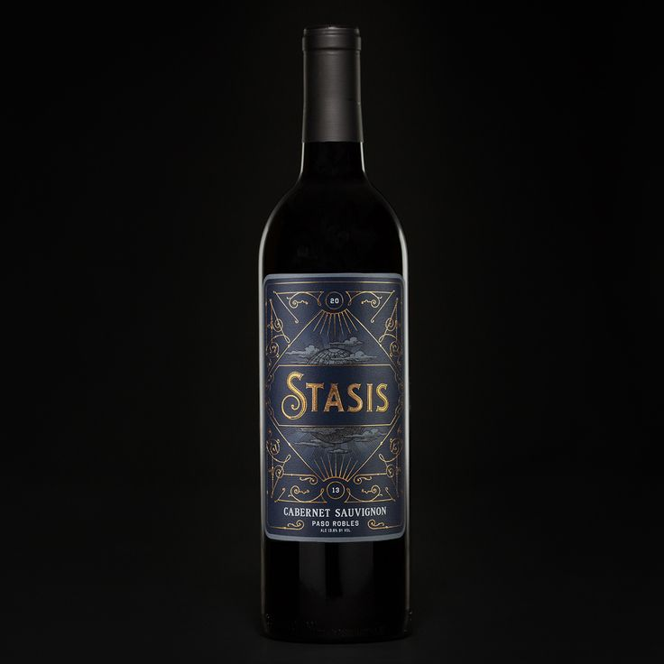 Stasis Cabernet Sauvignon on Packaging of the World - Creative Package Design…