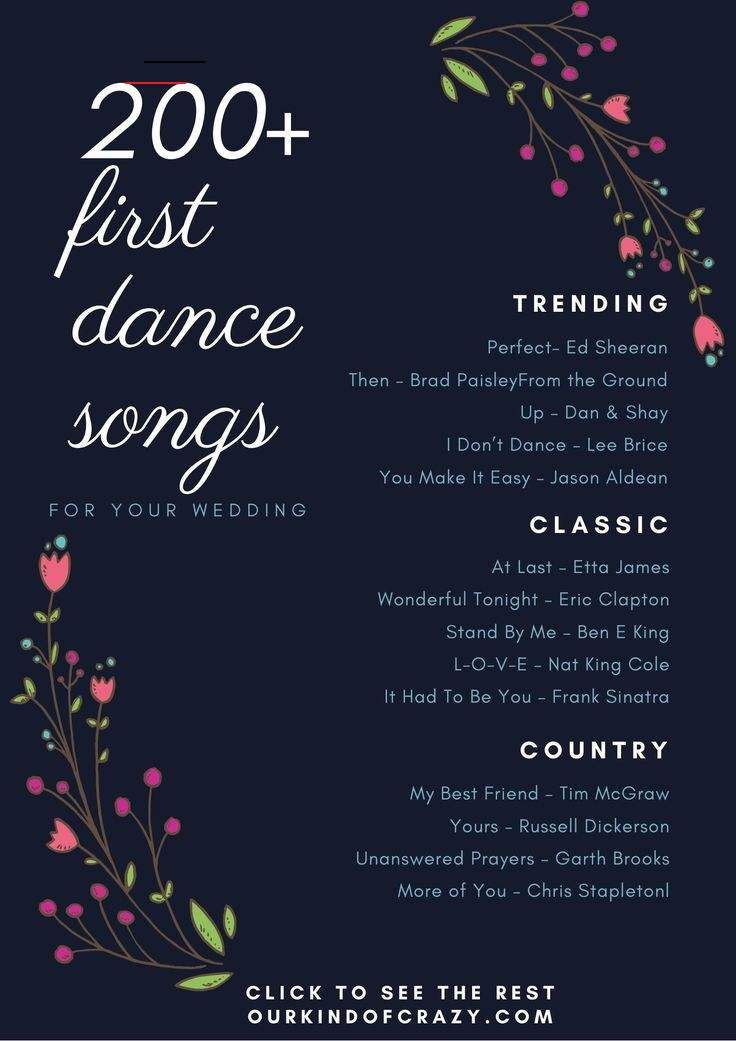 Best First Dance Songs For Your Wedding Firstdancesongs Your First Dance At Your Wedding Is A Special Dance As Husband And Wife It Usually Starts O En 2020 Mariage
