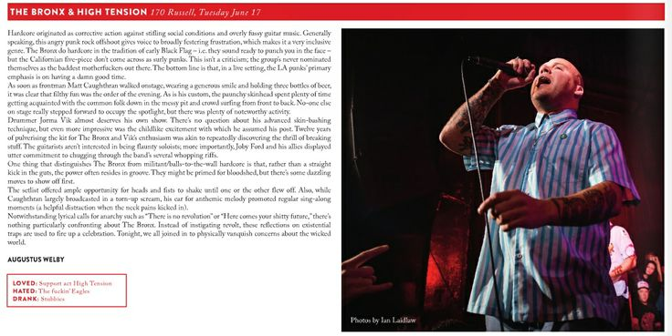 The Bronx Live Review - Beat 25.6