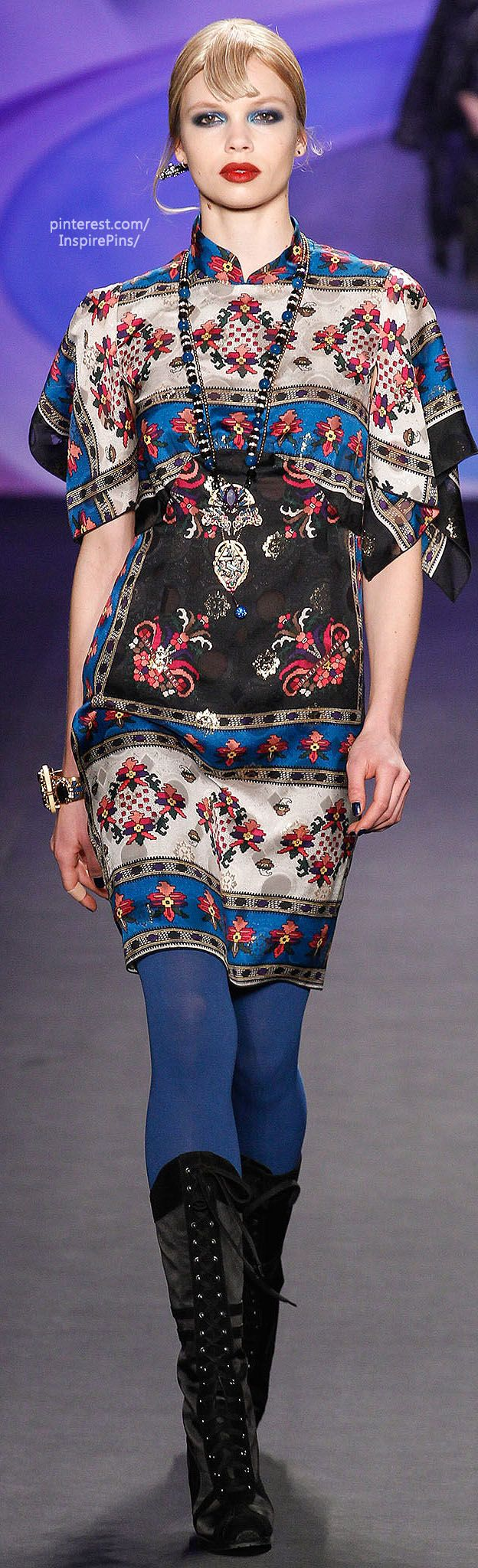 Fall 2014 Anna Sui | The House of Beccaria#