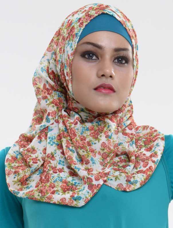 Jilbab model celty flower harga Rp 69.000,00