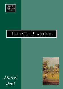'Lucinda Brayford' (1946) chronicles three generations of an Anglo-Australian family around the turn of the twentieth century and contrasts both Australian and English societies. At the same time, the book is a sensitive study of one woman's life. Lucinda's family, originally arriving in Australia in disgrace, become wealthy though farming, eventually owning a magnificent house in Toorak where the cream of Melbourne society gathers for social events.