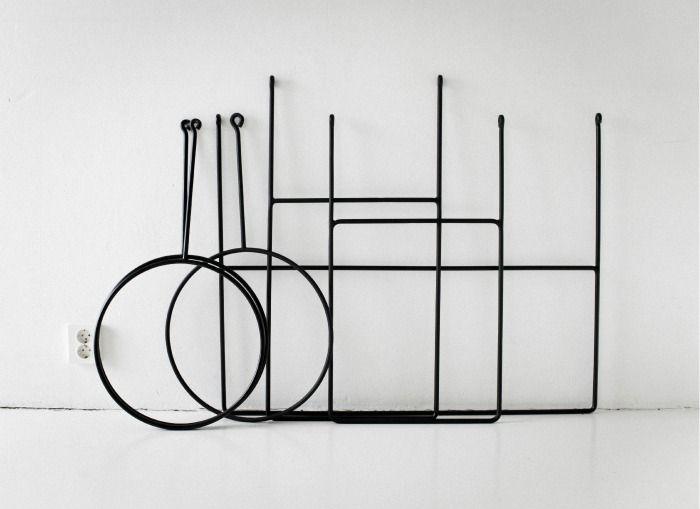 Clothing Rails | designer Annaleena Leino Karlsson