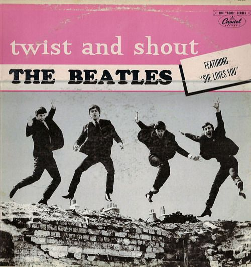 The Beatles - Twist & Shout record with She Loves You