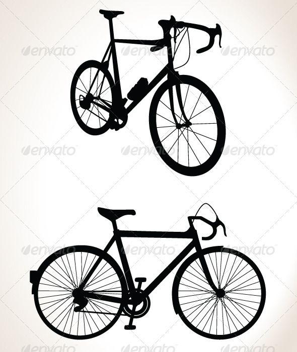 Bicycle Silhouette Double Pack - Vector  #GraphicRiver         Two detailed silhouettes of bicycles. One is a road racing bike in perspective and the other is a roadster from the side. These vectors can easily be edited to whatever size and color suits you without losing image quality.  	 AI, EPS , JPG, transparent PNG , and TIFF files are included.     Created: 3January12 GraphicsFilesIncluded: TransparentPNG #JPGImage #VectorEPS #AIIllustrator #TIFFImage Layered: No MinimumAdobeCSVersion…