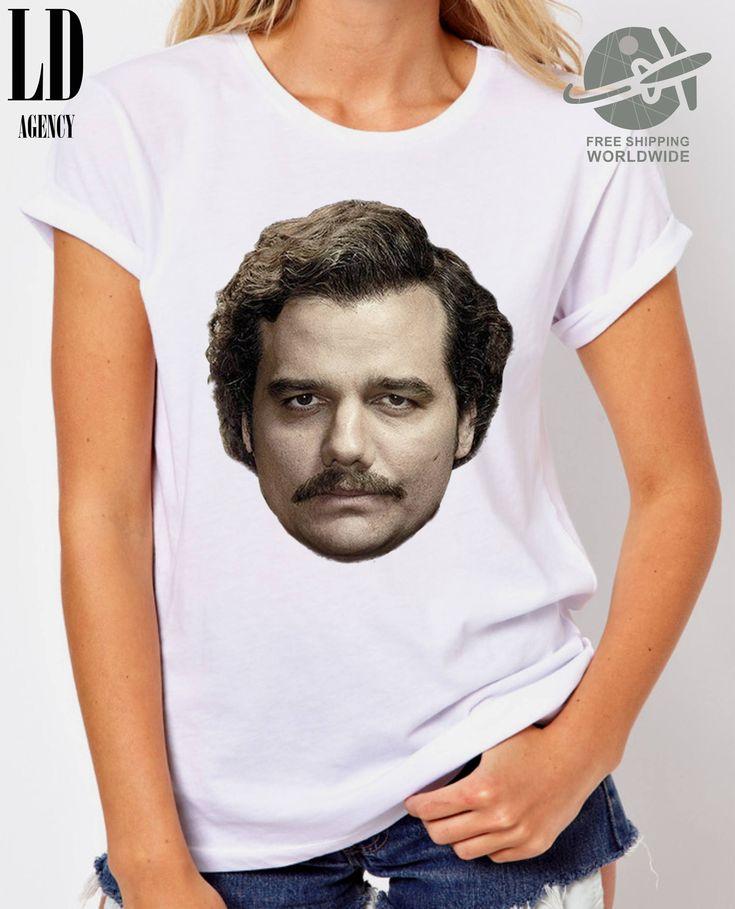 T-SHIRT NARCOS / tshirt tv series / tee colombian / tshirts pablo escobar / tees head / tshirt fans / gift by LDAgency on Etsy