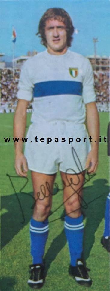 Mauro Bellugi La Nazionale Italiana Calcio ... ⚽️ C'ero anch'io ... http://www.casatepa.it/  Made in Italy dal 1952