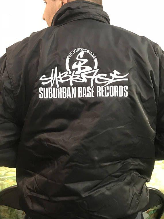 Original Suburban Base embroided MA2 DJ jacket
