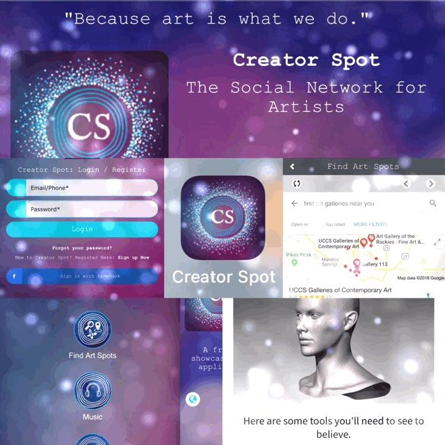 It's here! 🤩 Creator Spot for iOS https://itunes.apple.com/us/app/creator-spot/id1345965125?mt=8&utm_campaign=crowdfire&utm_content=crowdfire&utm_medium=social&utm_source=pinterest #free #app #apple #itunes #ios #iphone #ipad #art #becauseartiswhatwedo #artists #artist #creator #photography #artwork #social #getfeatured #getdiscovered #affordable #opportunity #freeexposure #galleries