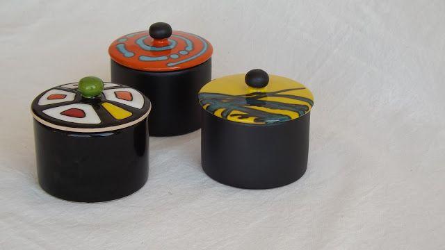 ceramica come mestiere: SCATOLE