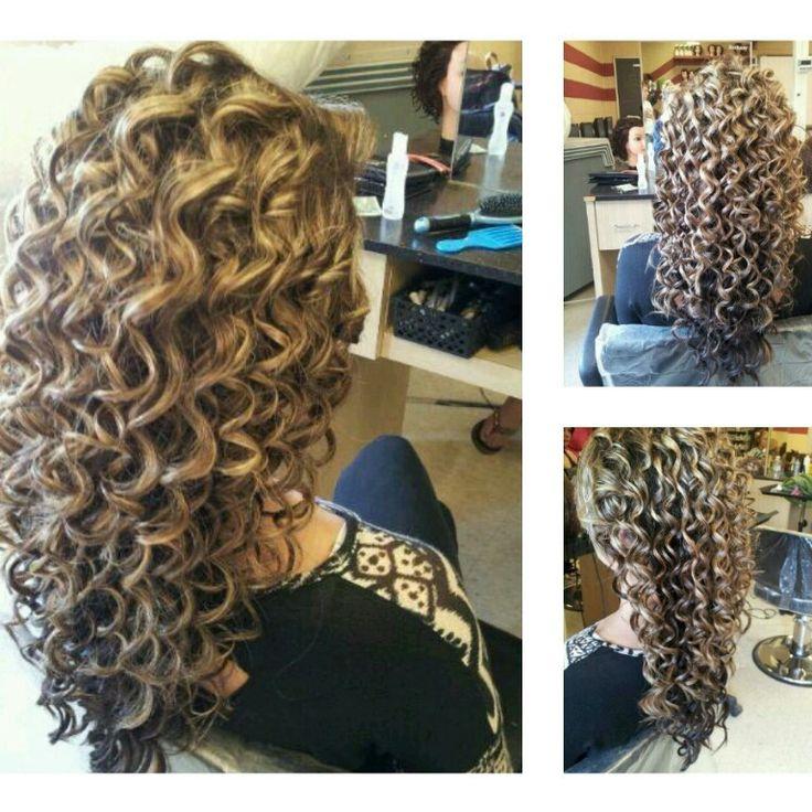 Spiral curls!