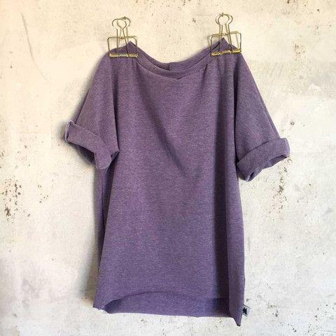 Lazy Day T.shirt - Purple