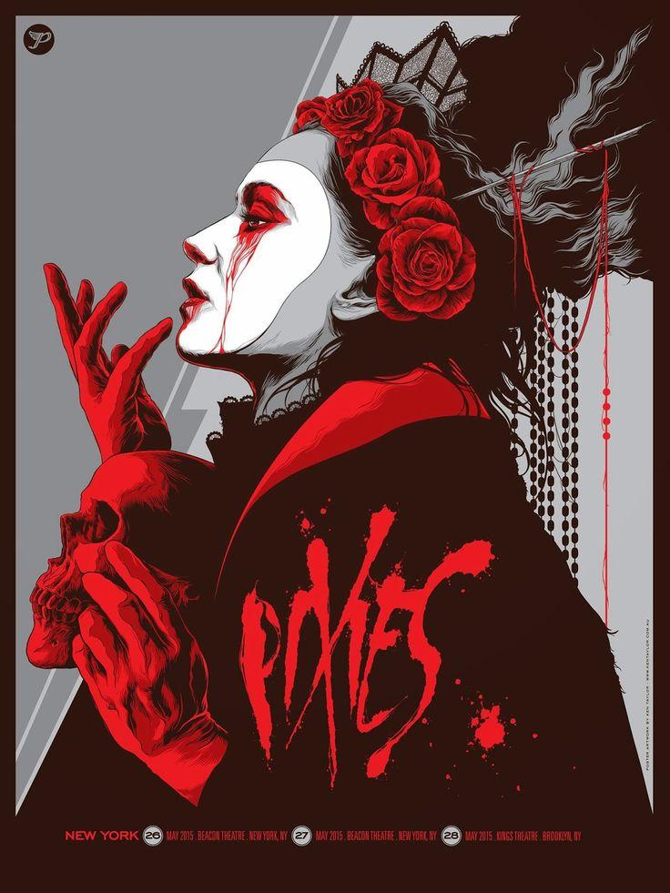 INSIDE THE ROCK POSTER FRAME BLOG: Ken Taylor Pixies New York Poster