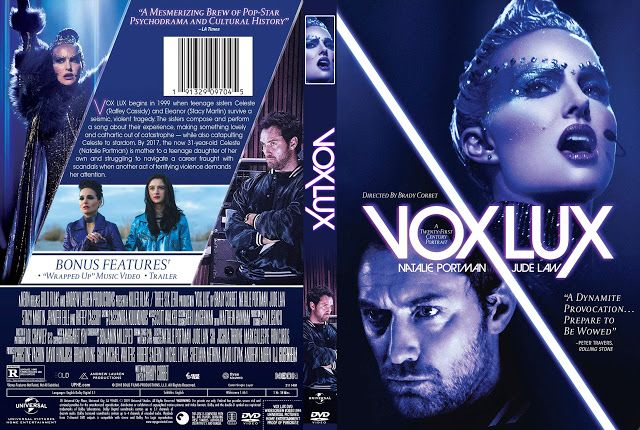 Vox Lux Dvd Cover Dvd Covers Sia Songs Best Director