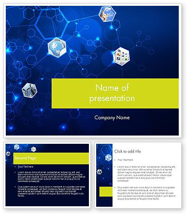 http://www.poweredtemplate.com/12121/0/index.html Network Concept with Hexagons PowerPoint Template