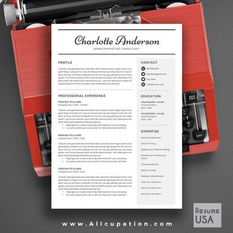 25 best ideas about resume templates word on pinterest