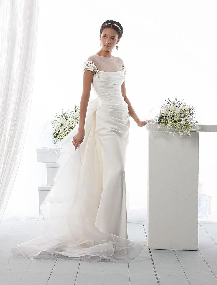 KleinfeldBridal Le Spose Di Gio Bridal Gown 32811853 Sheath No Waist Princess Seams