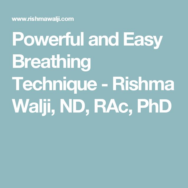 Powerful and Easy Breathing Technique  #managestress #breathe #sleepbetter #relaxation