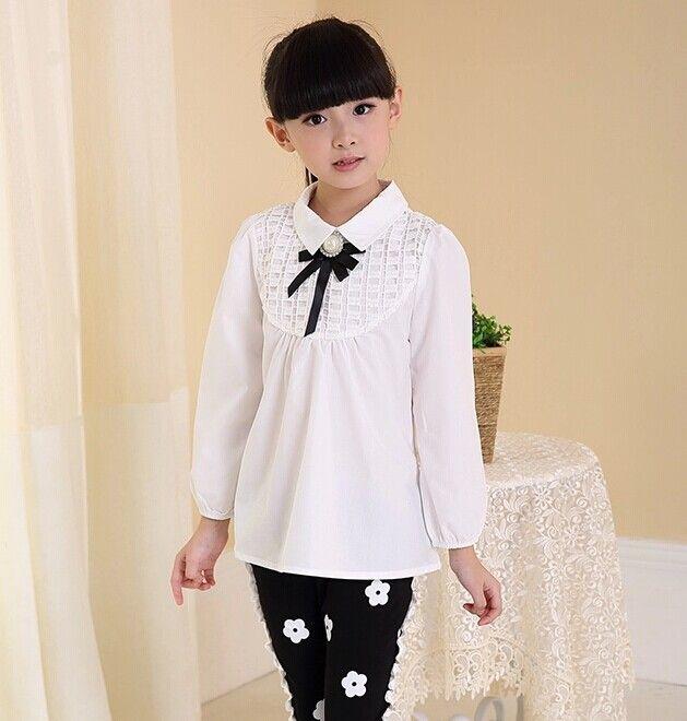 blusas de gasa para niñas