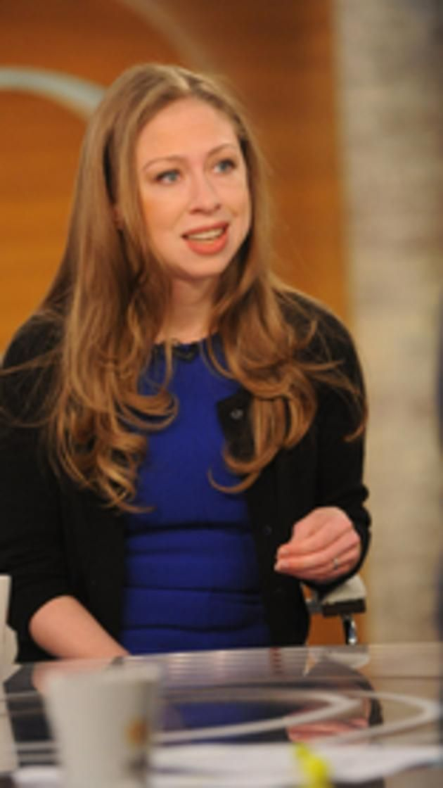 NEW YORK - OCTOBER 20: Chelsea Clinton, Usher, Ray Lewis visits CBS This Morning with Co-hosts Charlie Rose, Norah O'Donnell and Gayle King on Tuesday, Oct. 20, 2015. (Photo by Heather Wines/CBS via Getty Images)  via @AOL_Lifestyle Read more: http://www.aol.com/article/news/2016/11/04/chelsea-clinton-shows-up-in-latest-hillary-clinton-email-dump/21599226/?a_dgi=aolshare_pinterest#fullscreen