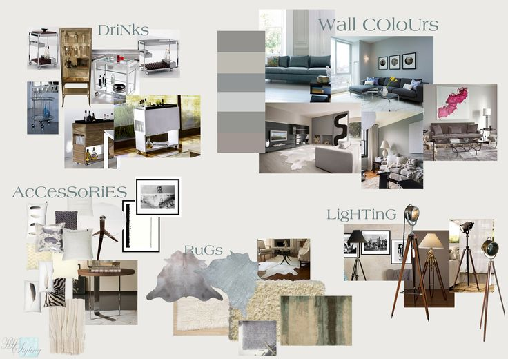 Mood Board Interior Design Professenial