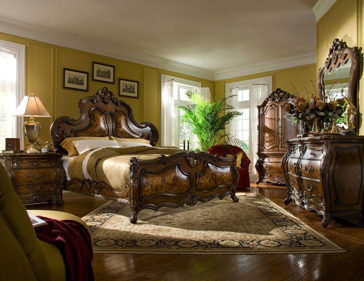 best Romantic rooms  on Pinterest   beds Bedroom