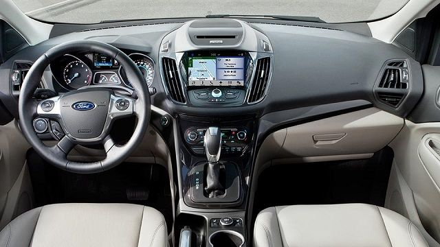2016 Ford Escape Small SUV Review Interior View