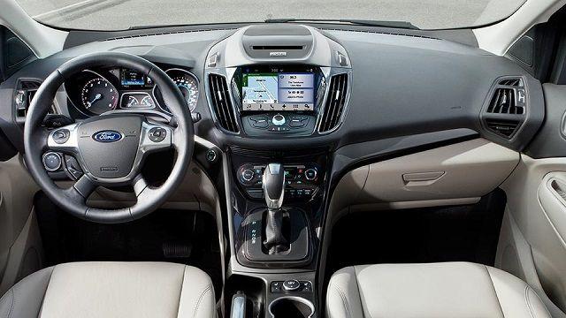 2016 Ford Escape Small SUV Review Interior View